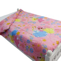 Disney Princesses Twin Bed Comforter Cinderella Pink