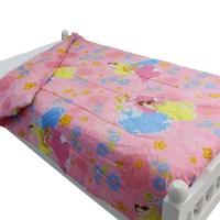 Disney Princesses Twin Bed Comforter Cinderella Pink ...