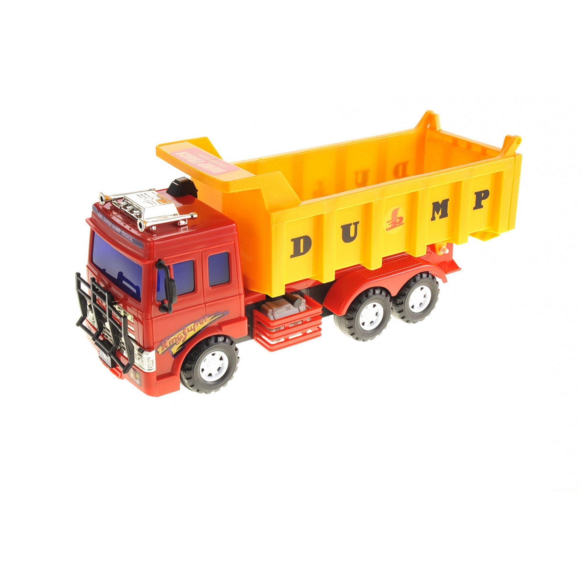 Big Dump Truck Toy For Kids With Friction Power Heavy