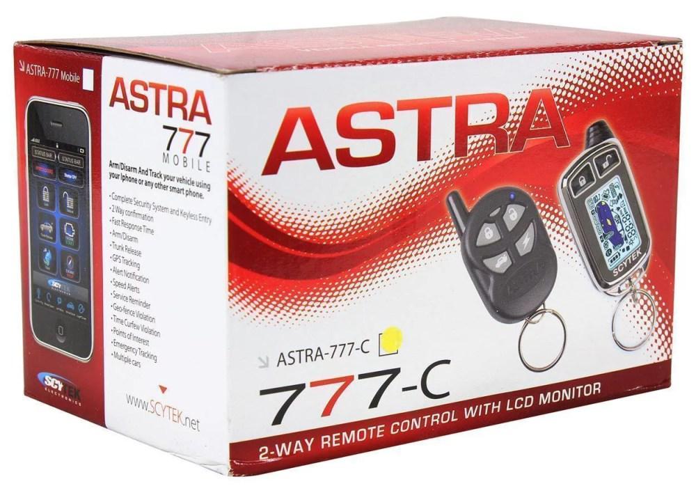 medium resolution of scytek astra 777 c chrome car alarm security system 5 button 2 way lcd remote walmart com