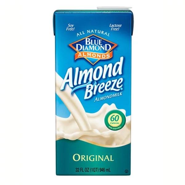 Blue Diamond Almond Breeze Original Almond Milk 32 oz ...