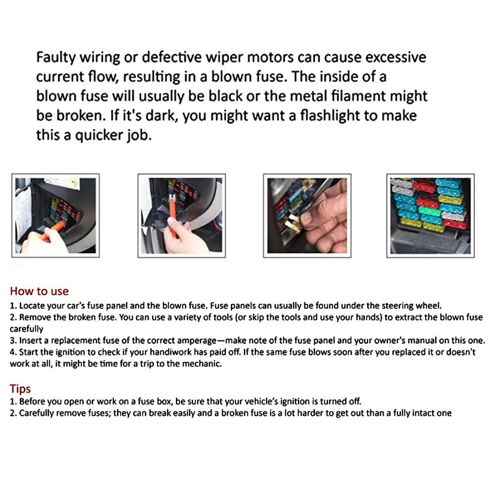 medium resolution of 120pcs car fuses kit low profile mini fuse assortment 5 7 5 10 15 20 25 30a