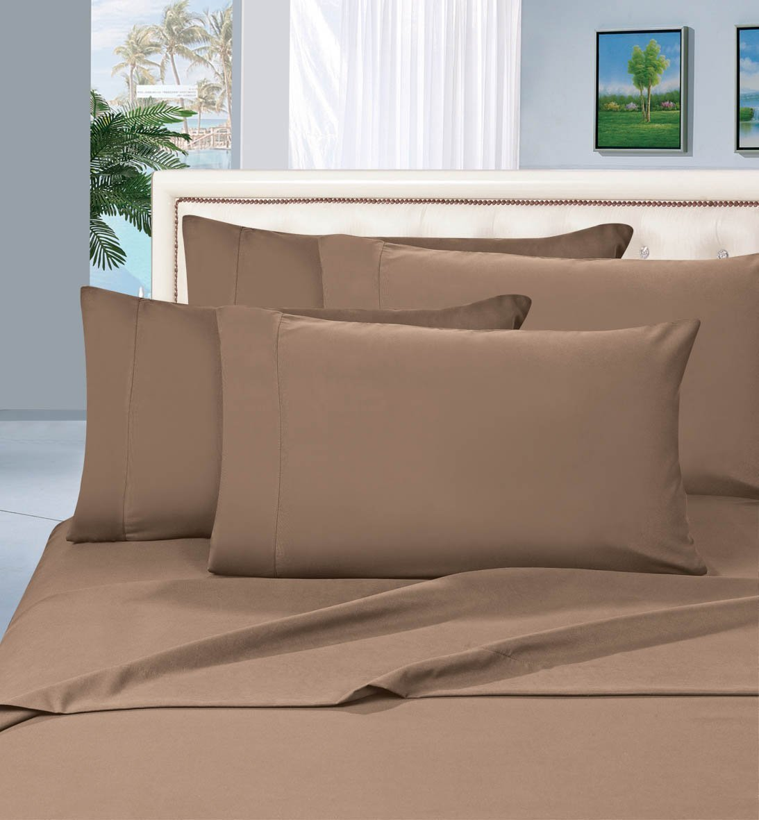 limited time 2pcs pillow cases all sizes and colors king taupe