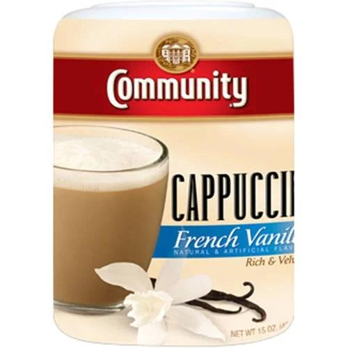 Community French Vanilla Cappuccino 15 oz - Walmart.com