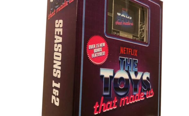 The Toys That Made Us Seasons 1 2 Blu Ray Walmart