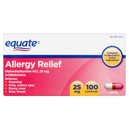 Image Result For Equate Allergy Relief Mg