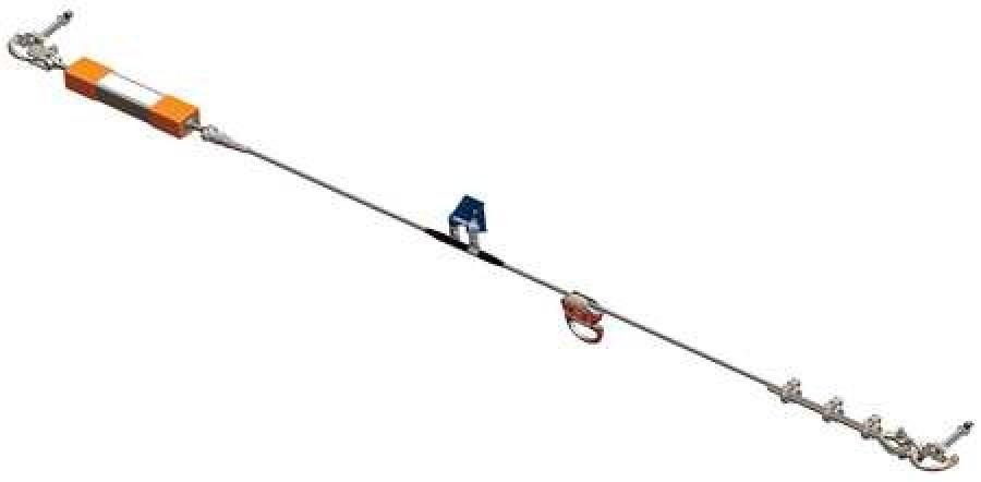 HONEYWELL MILLER X00030 Horizontal Lifeline, 30 ft., 310