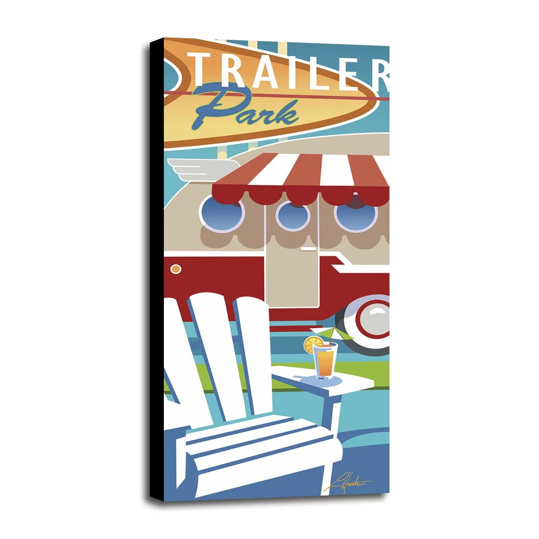 trailer park larhun126825 print