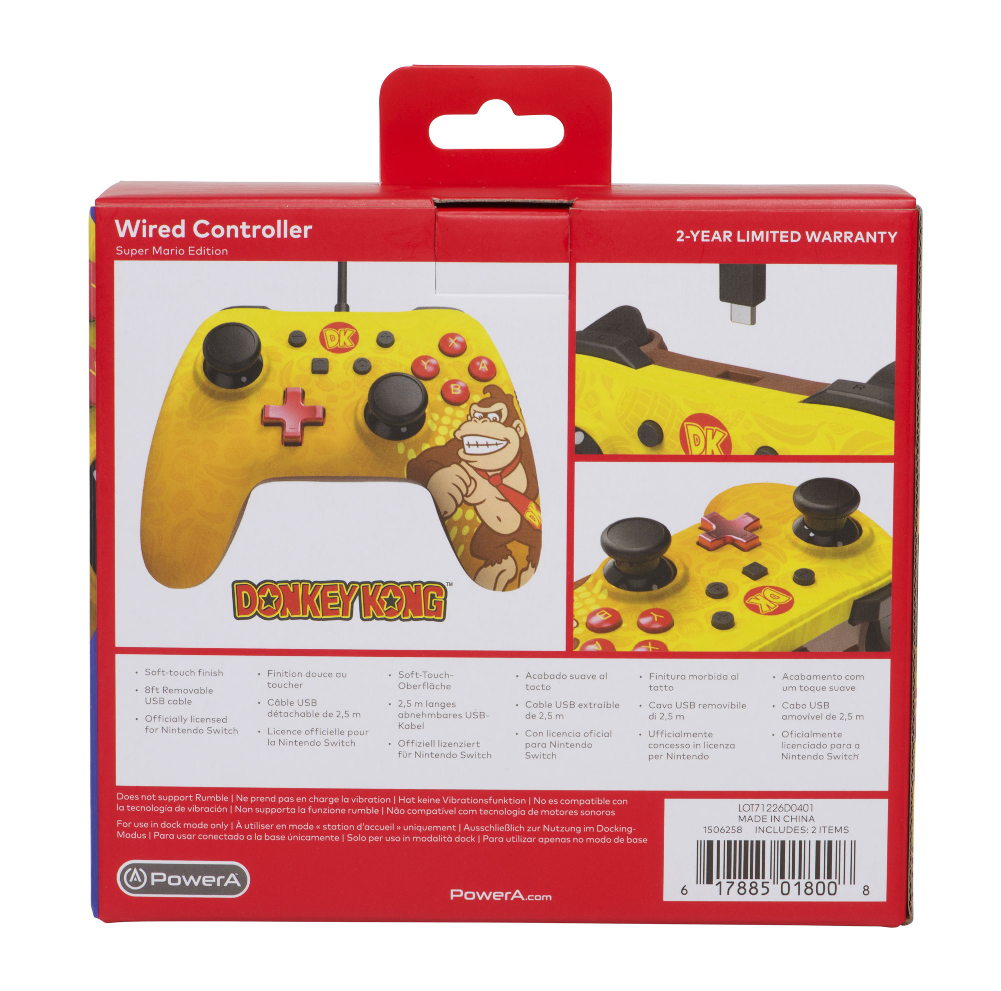powera wired controller for