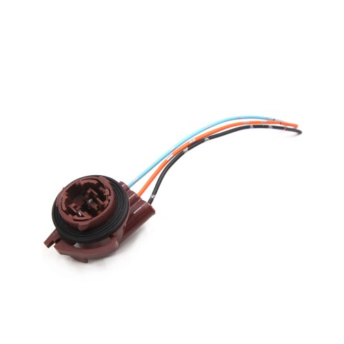 small resolution of 2pcs 3157 brake light bulb extension wiring harness socket connector for car