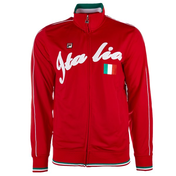 Fila - Italia Track Jacket Red Mens L