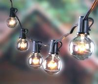 outdoor g40 string lights, vintage backyard patio lights ...