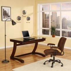 Zeta Desk Chair Kitchen Table And Chairs Set With Booth Whalen Furniture Hostgarcia
