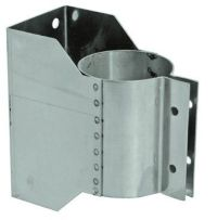 Stainless Steel Wall Bracket for 5 inch Vent Pipe