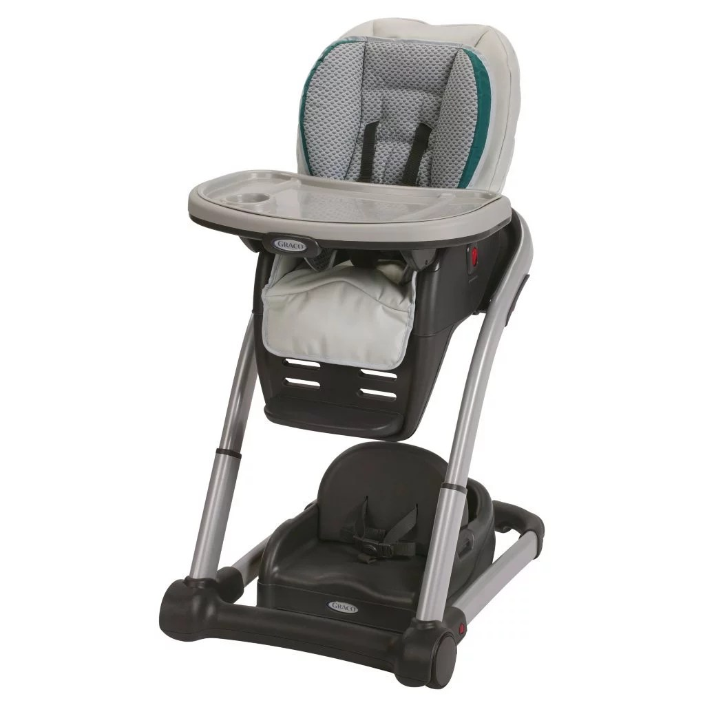 Graco Blossom 6in1 Convertible High Chair Sapphire