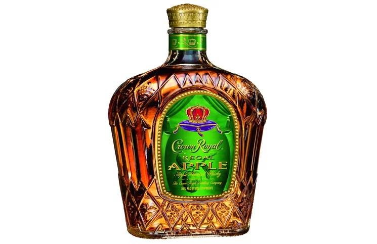 Crown Royal Regal Apple Whiskey 50 mL - Walmart.com