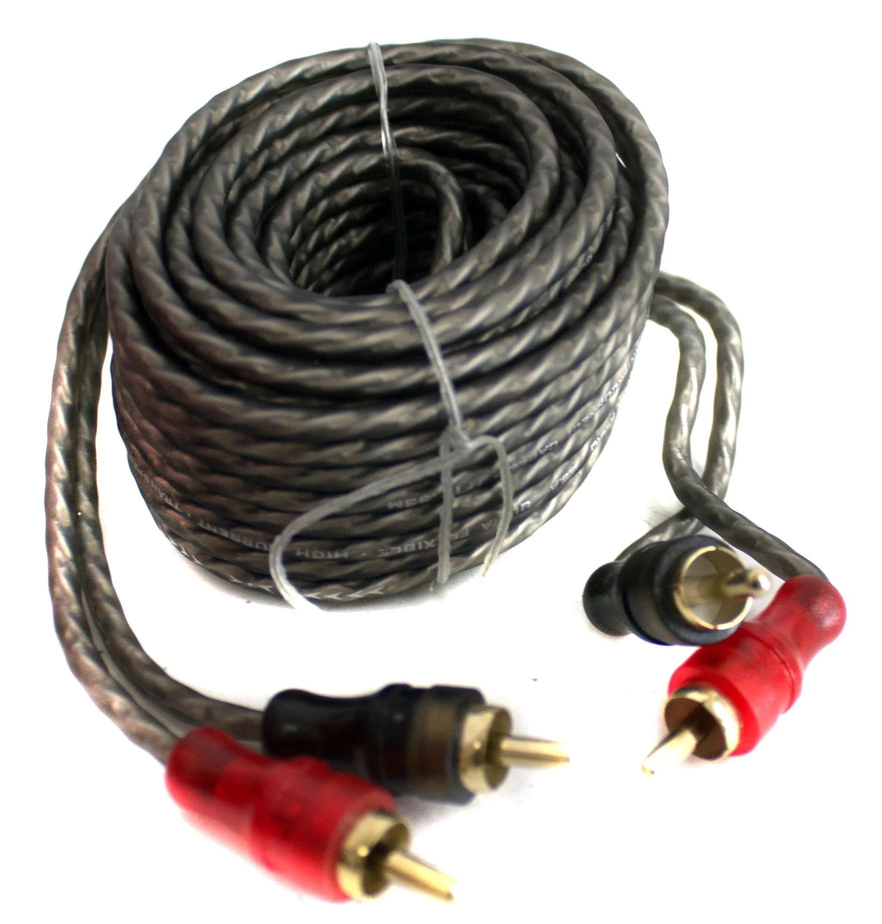 medium resolution of bullz audio 4 gauge 3000w professional car amplifier wiring amp kit red bpe4r walmart canada