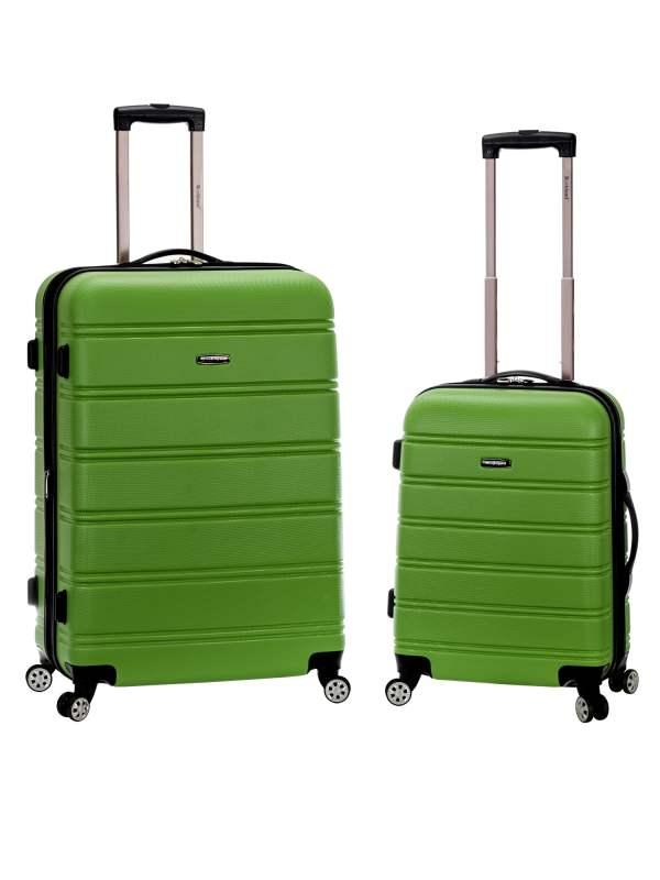 Rockland - Melbourne 2 Piece Hardside Spinner Luggage Set
