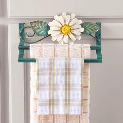 over the door daisy towel rack