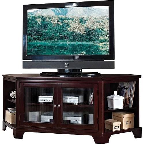 ACME Namir Espresso Corner TV Stand for Flat Screen TVs up to 60  Walmartcom