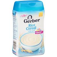 Gerber Rice Baby Cereal, 8 Ounce - Walmart.com