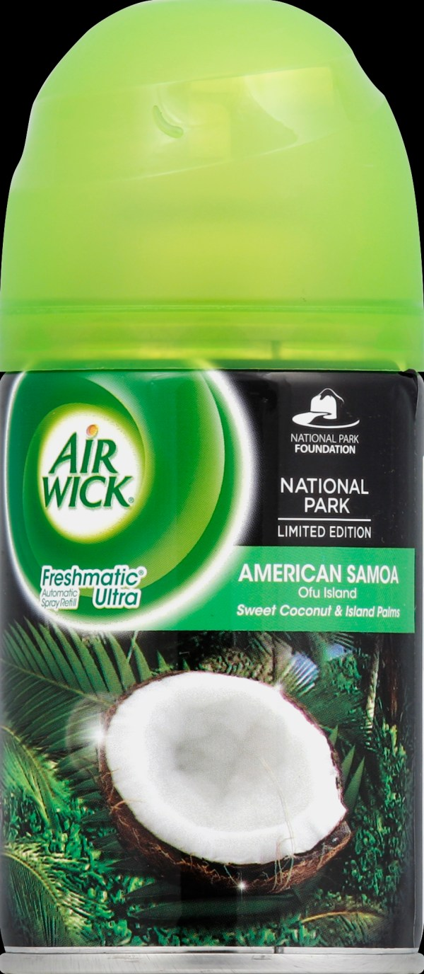 Air Wick Freshmatic Compact Automatic Freshener Spray Starter Kit Fresh Waters Scent 1 Ct