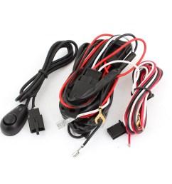unique bargains universal fog light wire wiring harness kit w control switch w fuse walmart com [ 1100 x 1100 Pixel ]