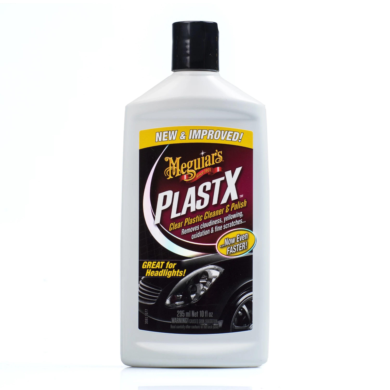 meguiar s g12310 plastx clear plastic cleaner and polish 10 oz