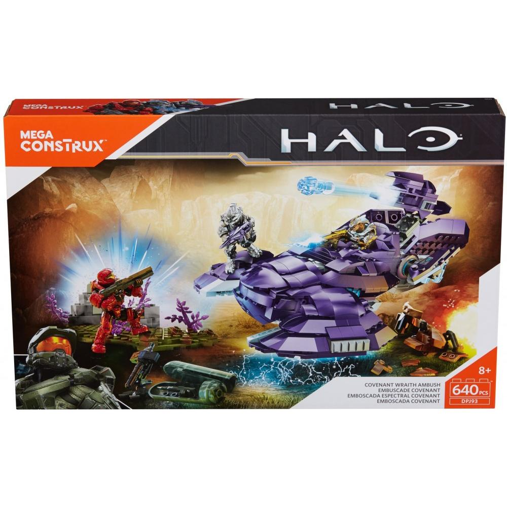 Mega Construx Halo Covenant Wraith Ambush  Walmartcom