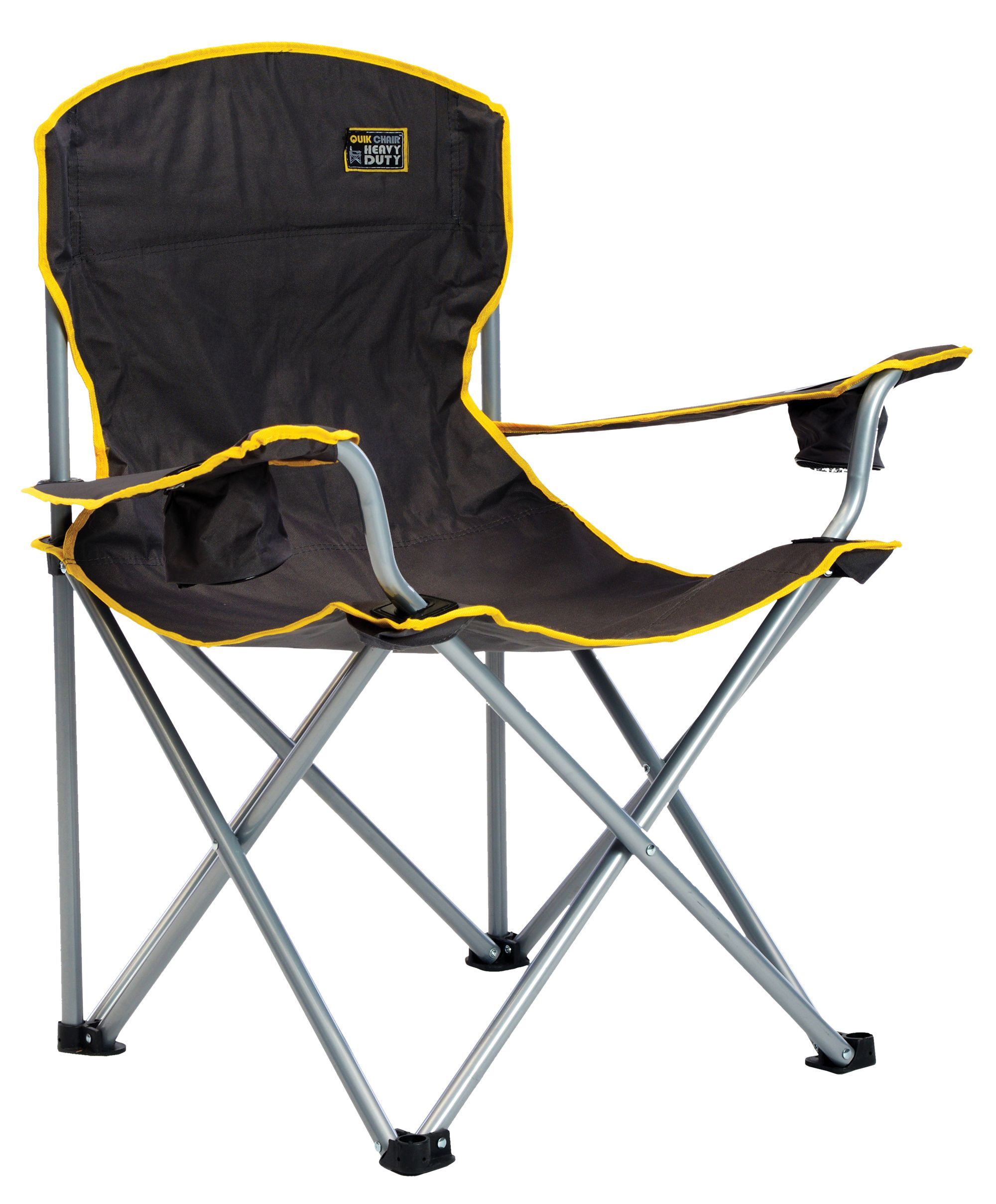 Quik Shade Heavy Duty Folding Chair  Black  Walmartcom