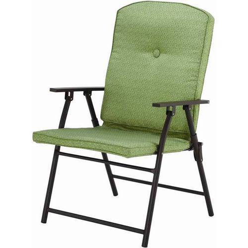 cushioned folding chairs ikea high chair recall mainstays outdoor padded set of 2 multiple colors walmart com