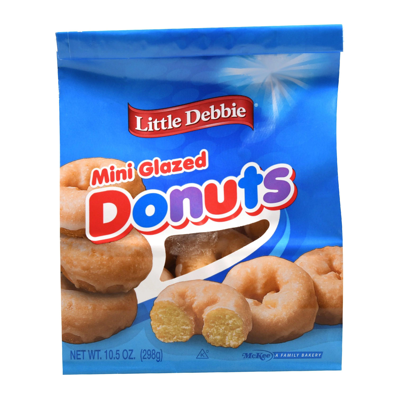 Little Debbie Mini Glazed Donuts 105 oz Walmartcom