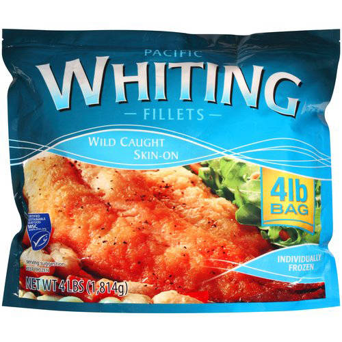 Pacific Whiting Fillets 4 lbs Walmartcom