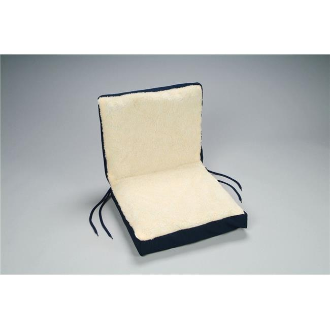 EasyComforts Sheepskin Seat Cushion Walmartcom