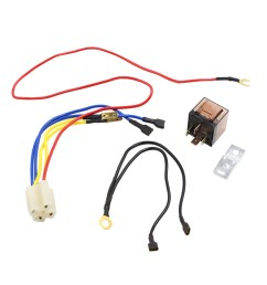 dc 12v 80a motorcycle car truck refit horn speaker wiring harness relay kit walmart com [ 1100 x 1100 Pixel ]