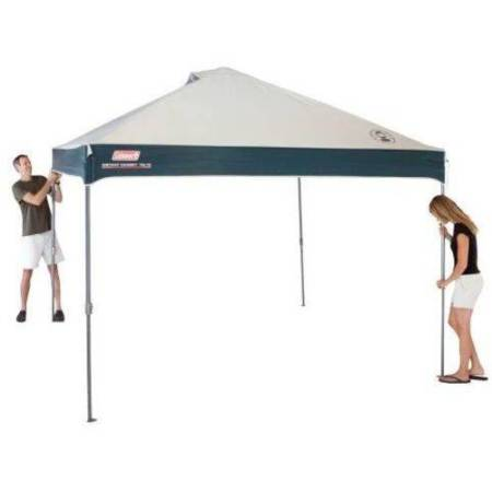 Coleman 10' x 10' Straight Leg Instant Canopy/Gazebo (100 sq. ft Coverage)