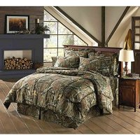 Mossy Oak Break Up Infinity Camouflage Full Comforter Set ...