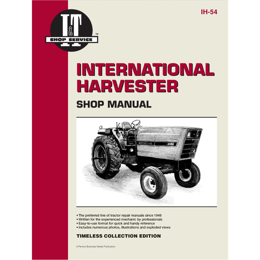 medium resolution of service manual case international tractor ih 54 3088 3288 3488 hydro farmall h electrical wiring diagram ih 3288 wiring diagram