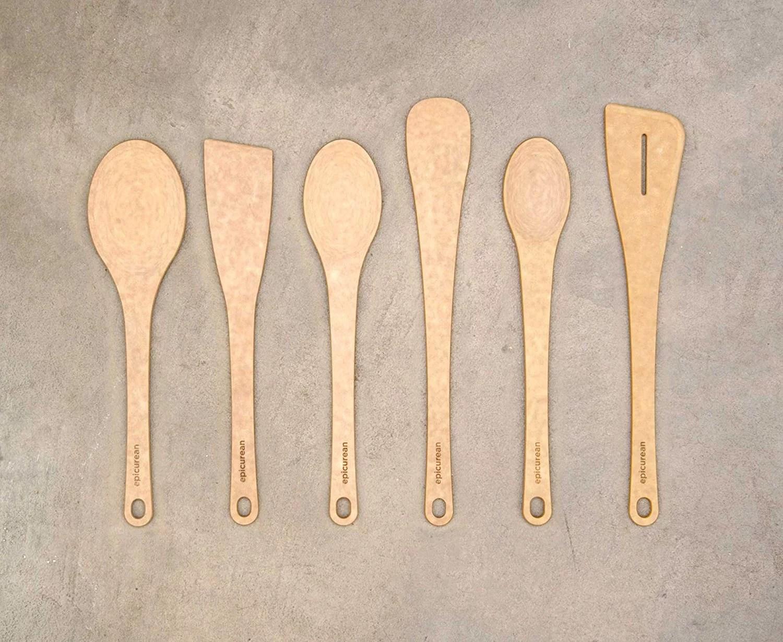 Epicurean Kitchen Series Utensils Large Spoon Natural