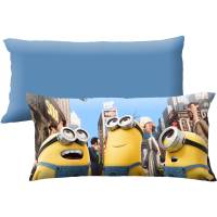 Universal Minions Always Wonder 18x36 Body Pillow