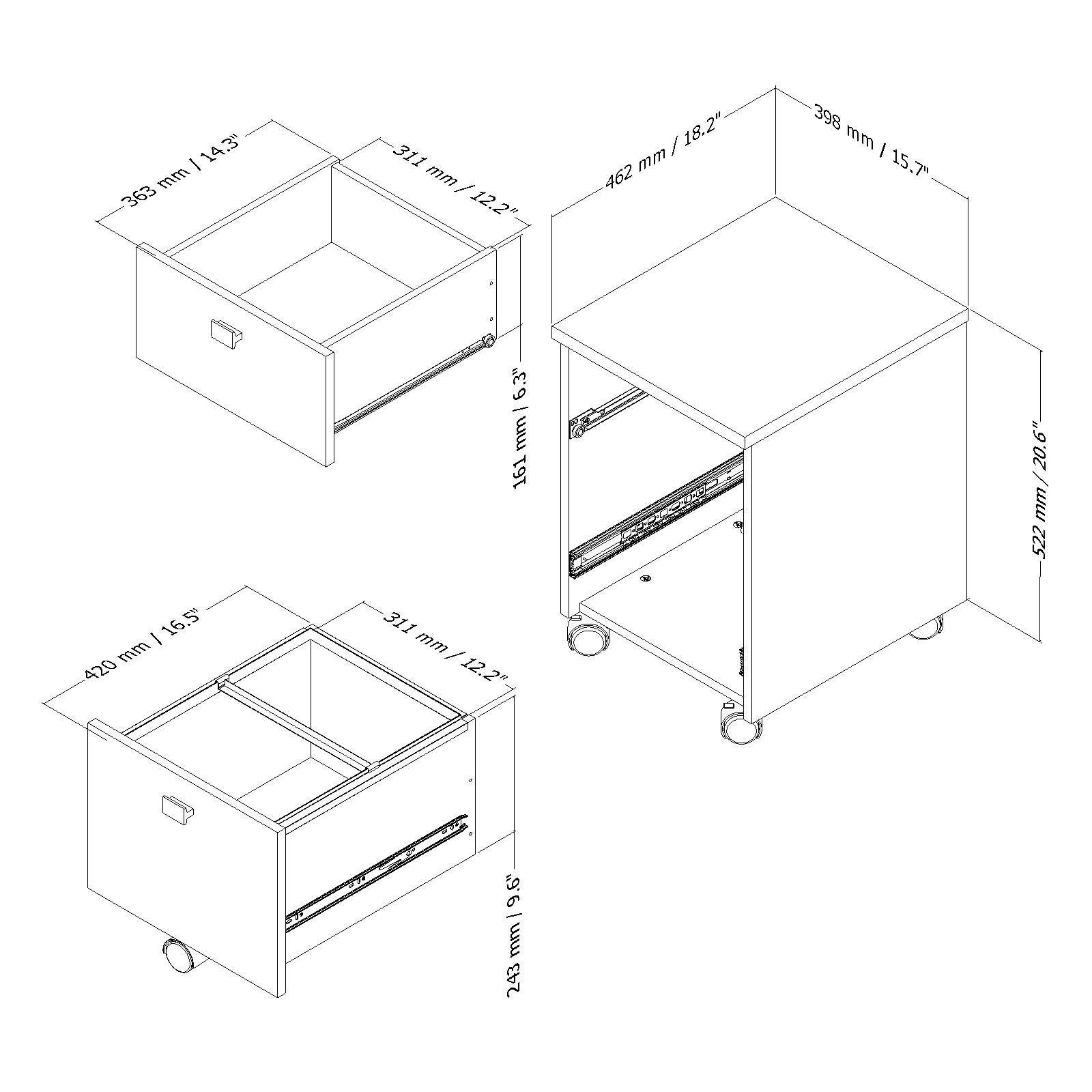 South shore 2 drawers vertical wood posite filing cabi multiple finishes available walmart