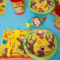 Curious George Paper Plates & Curious George Party ...