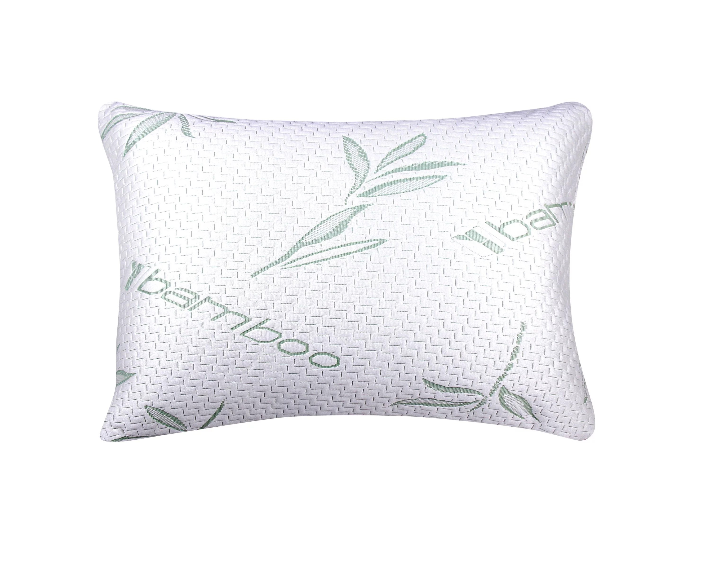 memory foam allergy free hypoallergenic cover comfort cooling bamboo pillow standard queen single