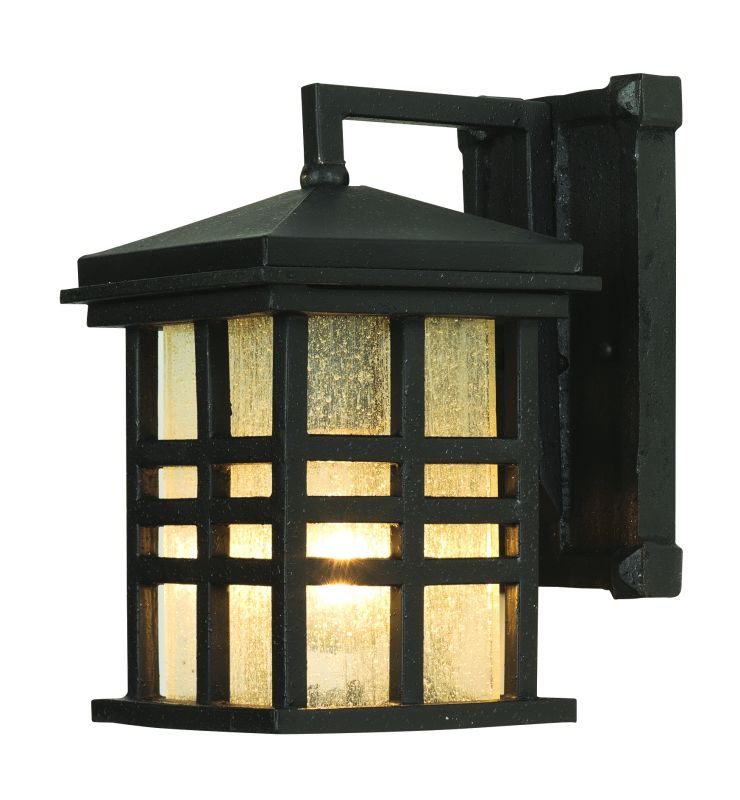 trans globe lighting 4635 mission style 10 tall 1 light outdoor square wall sconce from the outdoor collection