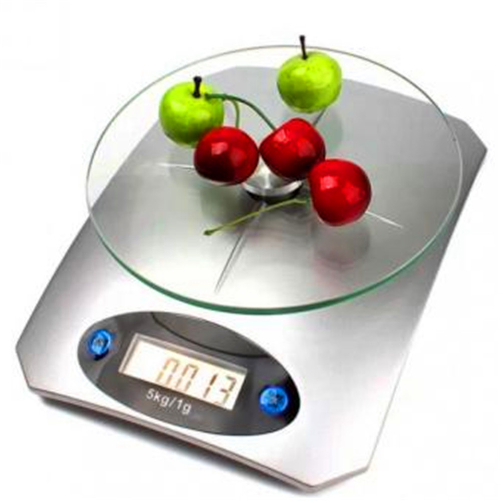 kitchen scales carousel utensil holder 5kg 11lbs x 1g 0 1oz digital scale glass top food diet home household