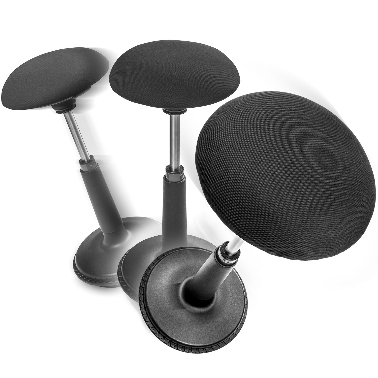 Active Sitting Chair Ergonomic Wobble Chair Active Sitting Stool Adjustable Height