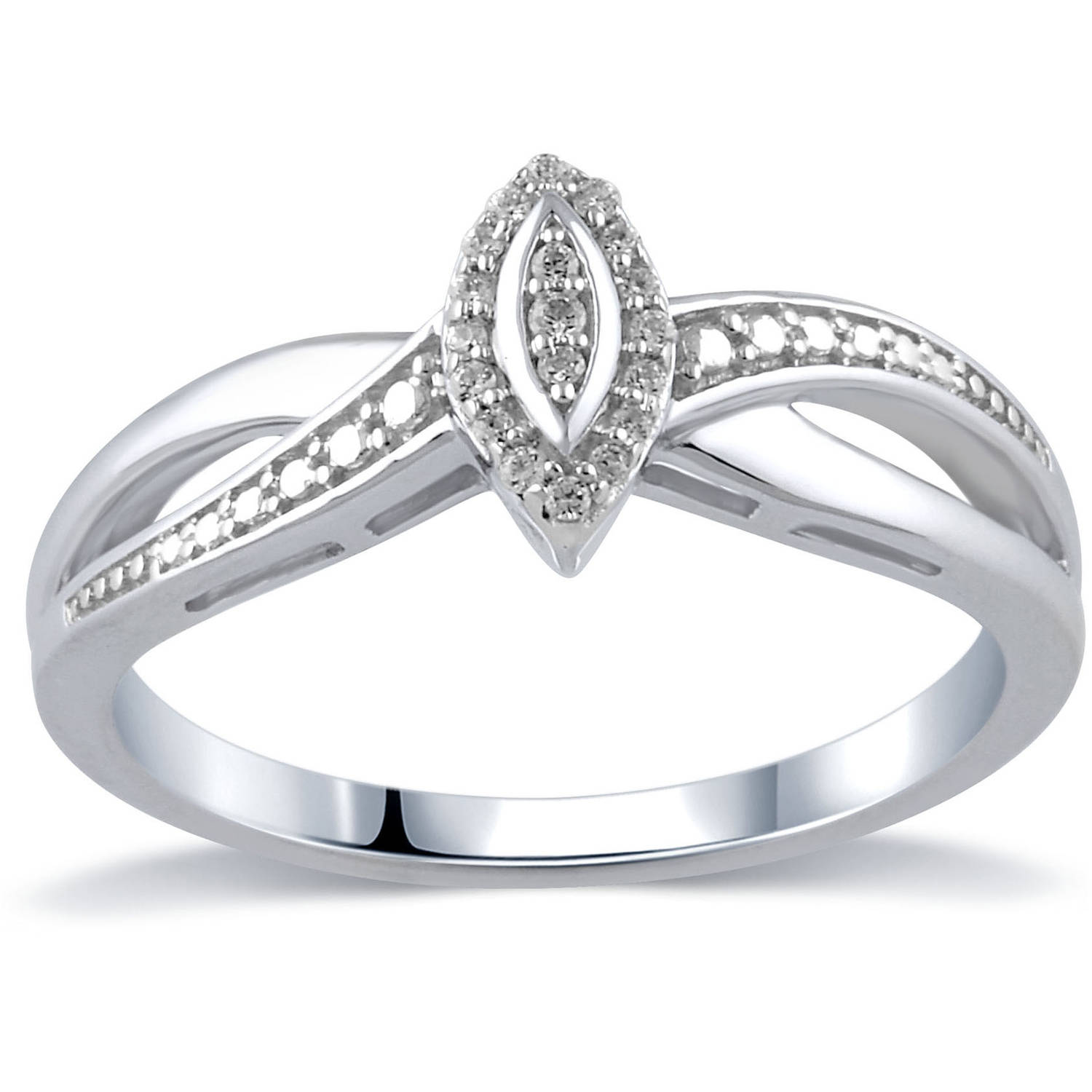 Diamond Accent 10kt Yellow Gold Promise Ring