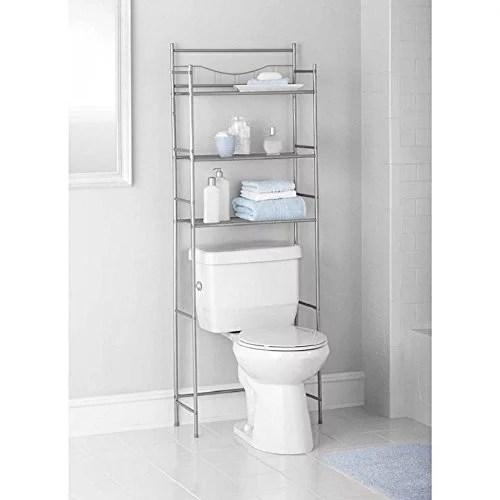 3Shelf Over Toilet Bathroom Storage Organizer Cabinet
