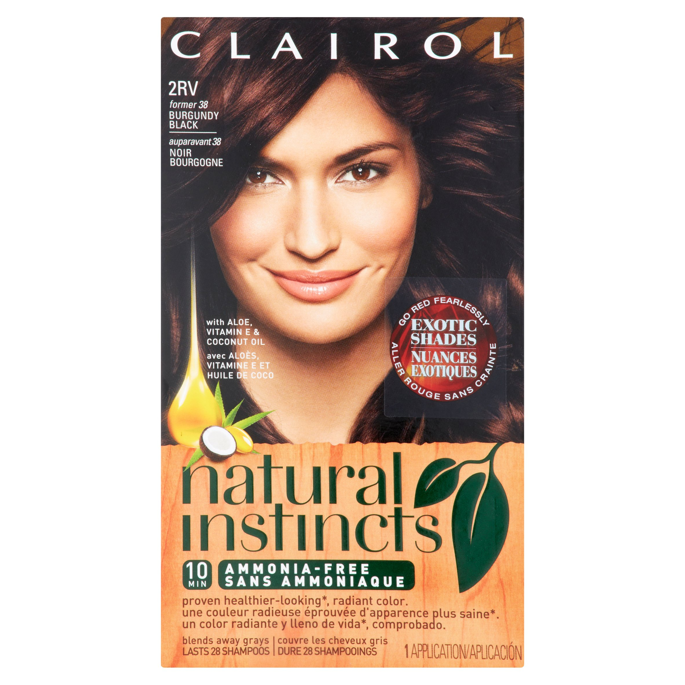 clairol natural instincts hair