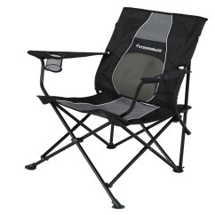 Strong Back Chairs Leather Chair Images Strongback Core Lime Grey Mesh Folding Camp With Superior Support Walmart Com